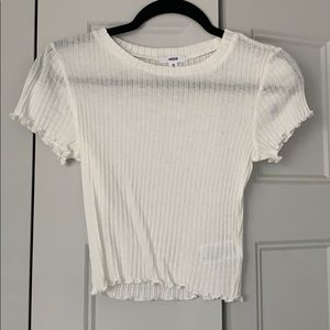 White Crop Top Xsmall Brand New
